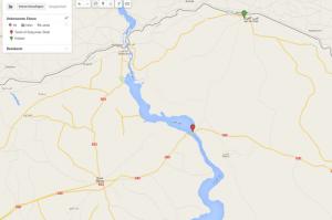 Kobane in Syrien an der türkisch-syrischen Grenze
