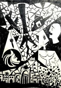Der aus Syrien stammende Künstler Ayman Darwich ist als Refugee in St. Andreasberg, Harz untergebracht. Dort wird in der Dorfkirche eine Ausstellung seiner Bilder statt finden, in welchen er seine Kriegs- und Fluchterfahrungen ausdrückt.